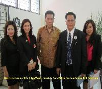Wanda Hamidah diundang dalam deklarasi Ikanot Undip di Semarang, 4 Oktober 2012