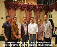 Pengurus Wilayah INI Banten. Zultrisman, Faisal Irawan dan kawan-kawan.