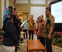 Pelantikan Ketua INI Kabupaten Bekasi